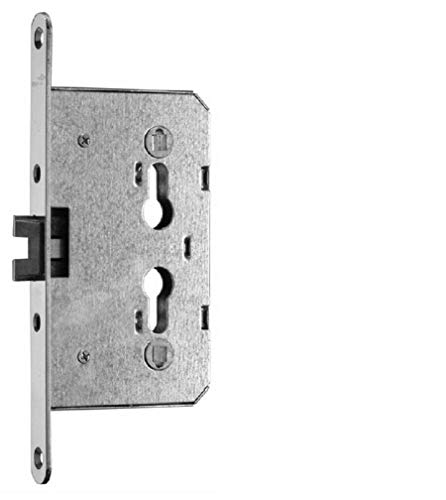 CZAIKA Cerradura empotrable de acero para puerta FH 65/72/20/8 1839.01