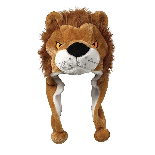 American Carnival Mart Hat-A-Mals Furry Soft Plush Lion Hat - http://coolthings.us