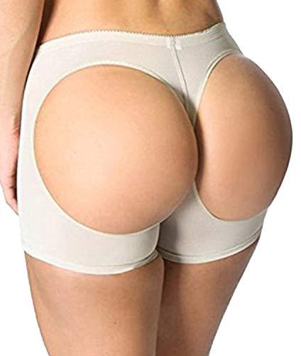 """FUT Women's Body Shaper Butt Lifter Tummy Control Seamless Panty Beige, S(Waist 22""""-24"""")/US SIZE 0-2"""