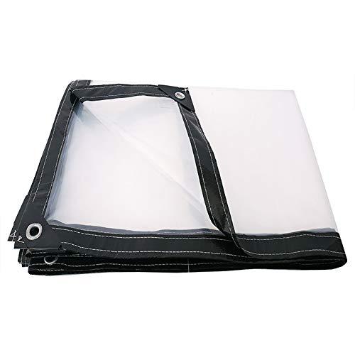 Plane LXF Transparente Hochleistungs-Weiß-Plastikfilm-wasserdichte Klare Blatt-Abdeckung 120G / M² (Size : 1M*2M)
