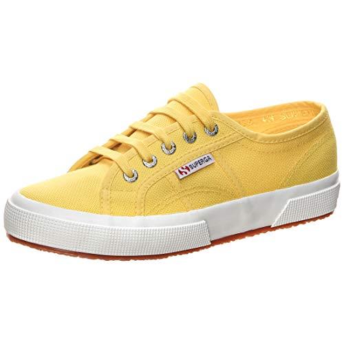 Superga 2750 Cotu Classic, Sneaker Unisex-Adulto, Giallo Sunflower, 41.5 EU