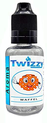 30ml Twizzy® XL Waffel Aroma | Aroma für Shakes, Backen, Cocktails, Eis | Aroma für Dampf Liquid und E-Shishas | Flav Drops | Ohne Nikotin 0,0mg