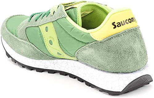 Saucony Jazz O' Sneakers 2044 Green/Yellow 7,5