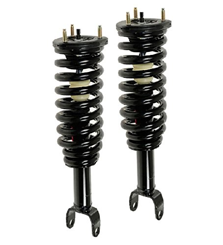 DTA 50002 Front Complete Strut Assemblies With Springs and Mounts Ready to Install OE Replacement 2-pc Pair Fits 2005-2009 Dakota 4WD Only