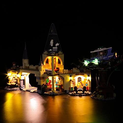 Kit De Luces Led Para Harry Potter Sauce Boxeador De Hogwarts, Compatible Con El Modelo De Bloques De ConstruccióN De Juguetes Lego 75953 (No Incluido El Modelo)