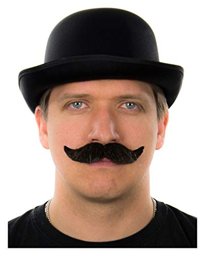 Horror-Shop Moustache Dark Brown