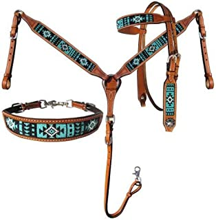 headstall and breastcollar sets