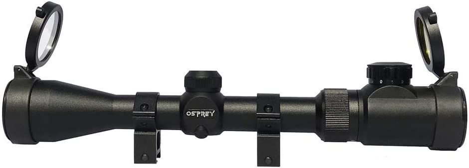 Osprey GlobalStandard Silver 3-9x40 Mil Dot Hunting ScopeSDS3-9x40S NEW