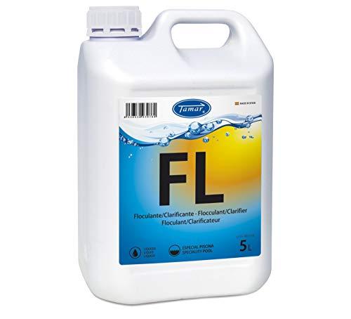 Tamar Floculante Liquido para Piscinas, 5 litros.