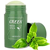 Green Mask , Green Tea Stick Mask Purifying Clay, Face Moisturizer, Oil Control, Deep Cleansing & Nourishing for Women and Men with All Skin Types (1PCS-Green Tea Stick Mask)