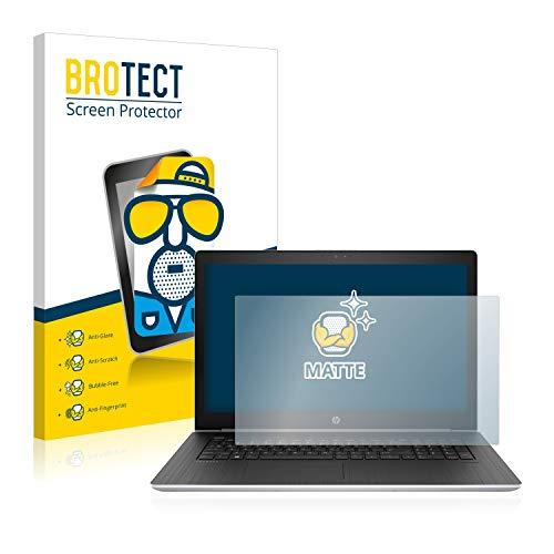 BROTECT Entspiegelungs-Schutzfolie kompatibel mit HP ProBook 470 G5 Bildschirmschutz-Folie Matt, Anti-Reflex, Anti-Fingerprint