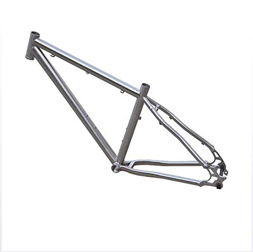 SHIYANLI Ultra-Light Weight Titanium Alloy Mountain Bike Off-Road Frame Travel Road Bike Frame is Better Than Carbon Fiber Riding Equipment,2919inch