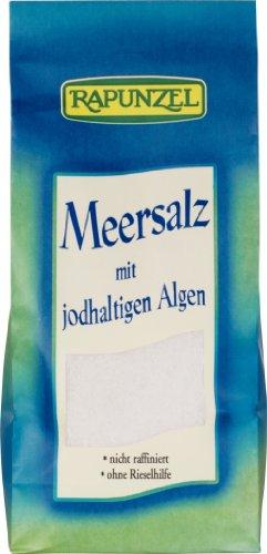 Meersalz mit jodhaltigen Algen, 4er Pack (4 x 500g)