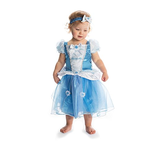 Amscan - DCPRCIN012 - Costume - bébé - Princess Cindy - 12-18 Mois