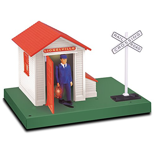 Lionel Model Train Accessories, Plug-Expand-Play Lionelville Auto Gateman