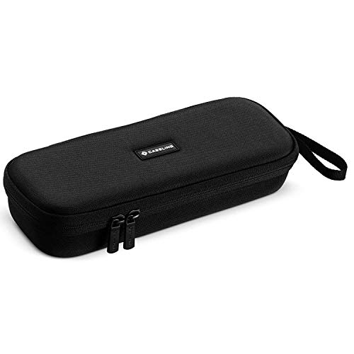 Caseling Hard Case Holder Fits Flat Iron Hair Straightener with Mesh Pocket