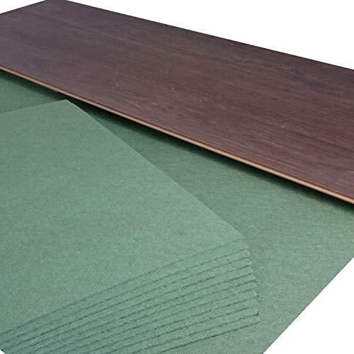 21 m² | Ökotex Parquet Feltplatte 5 mm Starke Trittschalldämmung für Laminat-/ Parkett- und Korkböden. Stärke: 5 mm (21 m² | 3 Pakete mit 7 m²)
