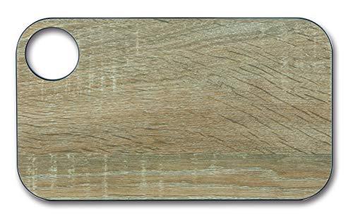 Arcos Tablas, Tabla de Cocina Tabla para Cortar, Fibra de Celulosa y Resina 24 x 14 cm y 6, 5 mm de espesor, Color Marrón