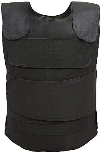 GYC Anti-Terrorismus-Kugelsichere Platte, Polyethylenfaser-Körperschutz Tactical Vest Sting Protection Weste Anti Knife Vest Brustschutz