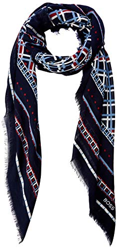 BOSS Damen Naretro Schal, Mehrfarbig (Open Miscellaneous 963), One Size (Herstellergröße: STCK)