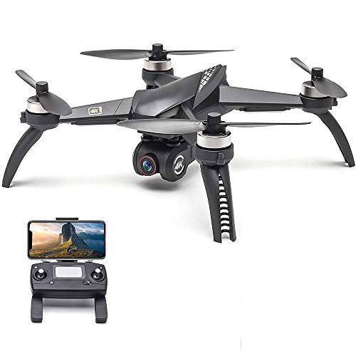 5W B5W RC Drone Met Camera 4K Drone 5G Wifi Borstelloze RC Quadcopter Track Flight Point of Interest Gesture Photo