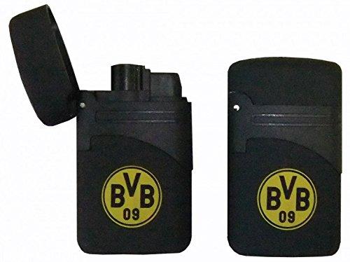 Atomic 2 x Feuerzeug Turbo Easy Torch BVB Borussia Dortmund nachfüllbar 14190 K