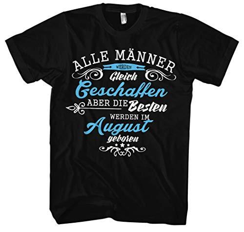 Geboren in mannen mannen T-shirt | elke 12 maanden verkrijgbaar! Jubileum verjaardagscadeau
