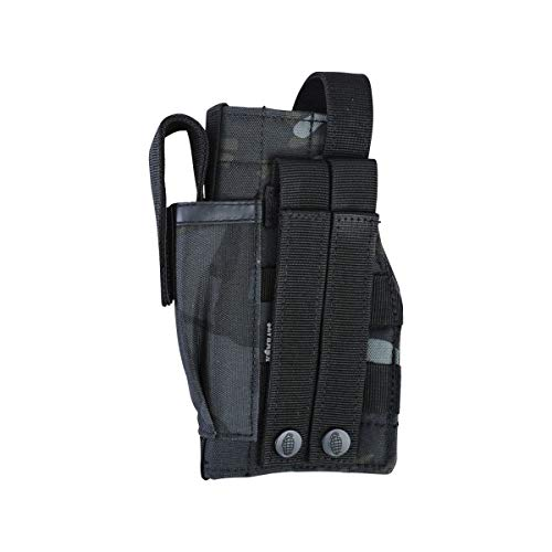 Kombat Molle Holster With Pistol Mag Pouch BTP BLACK