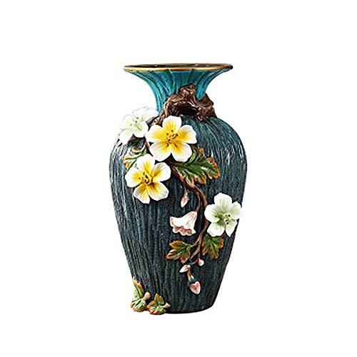 Keramische vaas, Living Room Decoration, High-end met de hand beschilderd keramiek Vaas, bloemenvazen, kleine verse Vaas