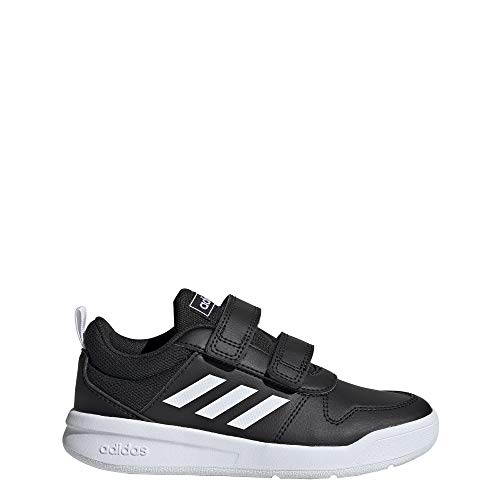adidas Unisex-Kinder Tensaur C Traillaufschuhe, Core Black FTWR White Core Black, 28 EU