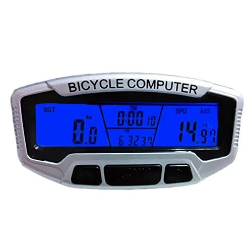 SUNDING SD-558A Wired Bike Bicycle Computer Odometer Speedometer with Back Light by TANGDA
