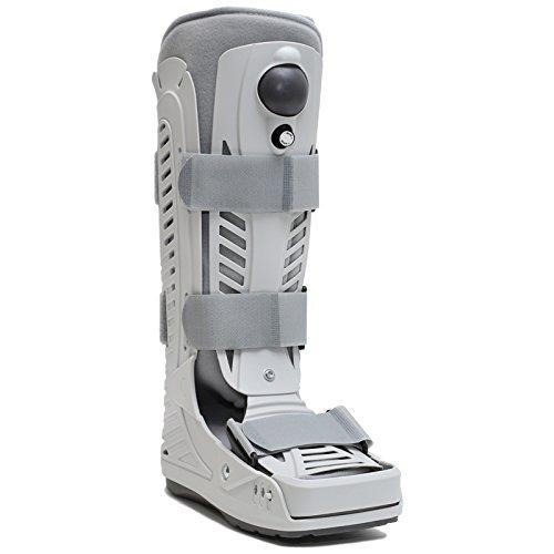 Advanced Orthopaedics Aero Walker High Top Air Cam Walking Boot, Medium - Mens Size 7 1/2 - 10, Womens Size 8 1/2 - 11 1/2