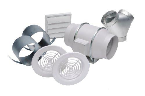 Soler & Palau KIT-TD150-DV Kit de ventilación dual en línea