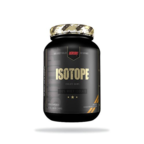 Redcon1 Isotope 100% Whey Protein Isolate - 2lbs (Peanut Butter Chocolate) by Redcon1