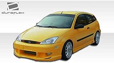 2000-2004 Ford Focus ZX3/ZX5 Duraflex Poison Kit-Includes Poison Front Bumper (100041), Poison Rear Bumper (100038), and Poison Sideskirts (100042). - Duraflex Body Kits