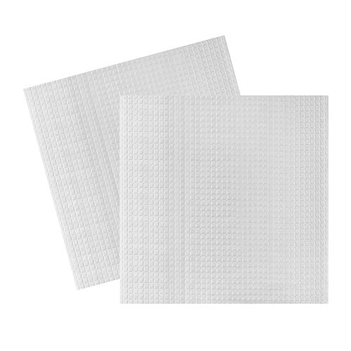 Aibecy 2pcs 220 * 220mm Heated Bed Foam Foil Insulation Cotton Self-Adhesive Hot Bed Heat Insulation Mat Sticker for Creality Ender 3 Ender 5 Anet A8 A6 Tronxy XY-2 3D Printer