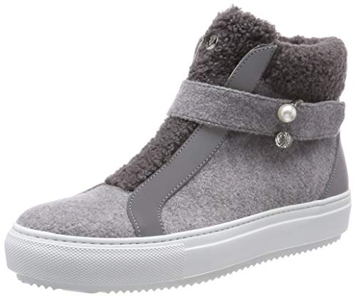Marc Cain Damen KB SH.65 J30 Hohe Sneaker, Mehrfarbig (Grey 820), 40 EU