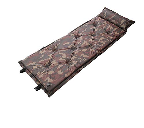Sleeping Pad for Camping, New Upgrade Double-Side Color Camping Air Mat Backpacking Pad for Outdoors (Camo,190×60×3.0cm)