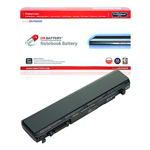 Dr. Battery Laptop Battery for Toshiba PA3832U-1BRS PA3833U-1BRS PA3929U-1BRS PABAS235 Portege R700 R830 R930 Satellite R630 R845 R830 Tecra R700 R940 DynaBook R730 [10.8V/4400mAh/48Wh]
