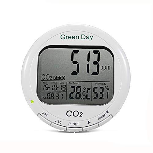 Kohlendioxid-Detektor-LED-Bildschirm Kohlendioxiddetektor Mit Temperatur- Und Feuchteüberwachung CO2 Konzentrationsdetektor Mit Alarm