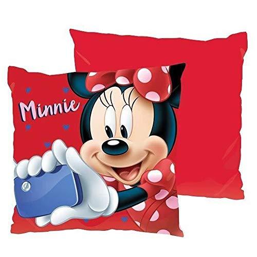 Disney Minnie Mouse Cojin 40x40cm niña, Multicolor, Única