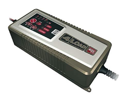 4-load CB-7.0 Charge Box vollautomatisches Ladegerät für Bleibatterien | Ladeerhaltungsfunktion | Für 12V- und 24V-Batterien von 10-230 Ah | Staubdicht und spritzwassergeschützt | Mit Boost-Funktion