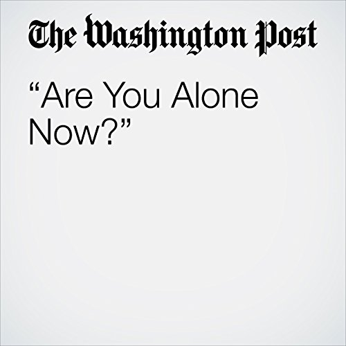 """Are You Alone Now?"" copertina"