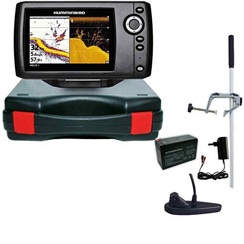 Humminbird Echolot Portabel Master Edition Komplett Helix 5 DI G2 Down Imaging