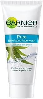 Garnier Skin Naturals Pure Exfoliating Face Wash, 100g