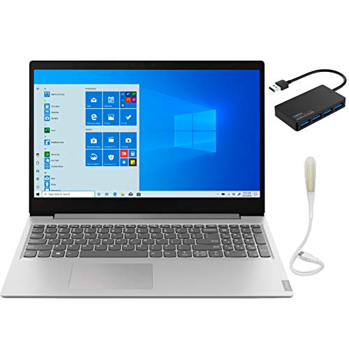 "2019 Newest Lenovo 130-15AST 15.6"" Laptop AMD A9-Series, 8GB DDR4 RAM, 256GB SSD, Wi-Fi, HDMI, Bluetooth, Windows 10, Black"