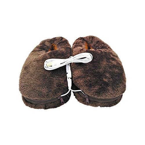 ParZ Scaldapiedi riscaldato riscaldato Elettrico della Scarpa della Pantofola del Riscaldamento USB