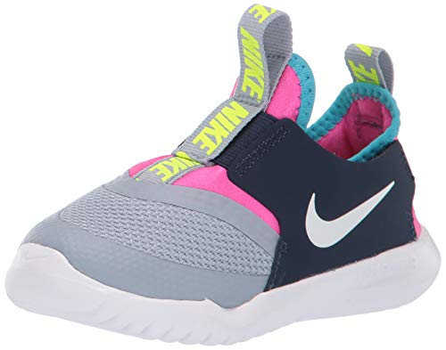 Nike Toddler Flex Runner TD Obsidian Mist White Fuchsia Size 10