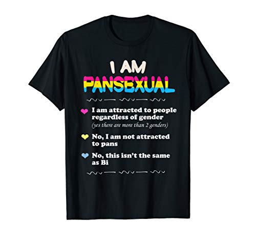 pansexual Definition Shirt–Funny Gay Pride LGBT