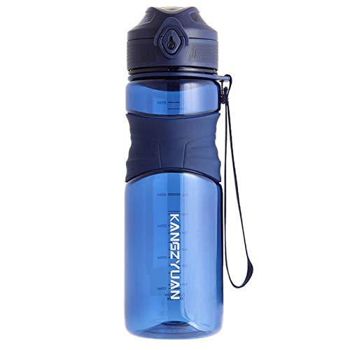Tappo Antigoccia Resistente BOTTLED JOY Palestra Borraccia 2.5 Litri Bottiglia per Acqua in Plastica BPA Free Ideale per Bambini,Scuola,Sport,Campeggio,Yoga,Palestra,Ciclismo